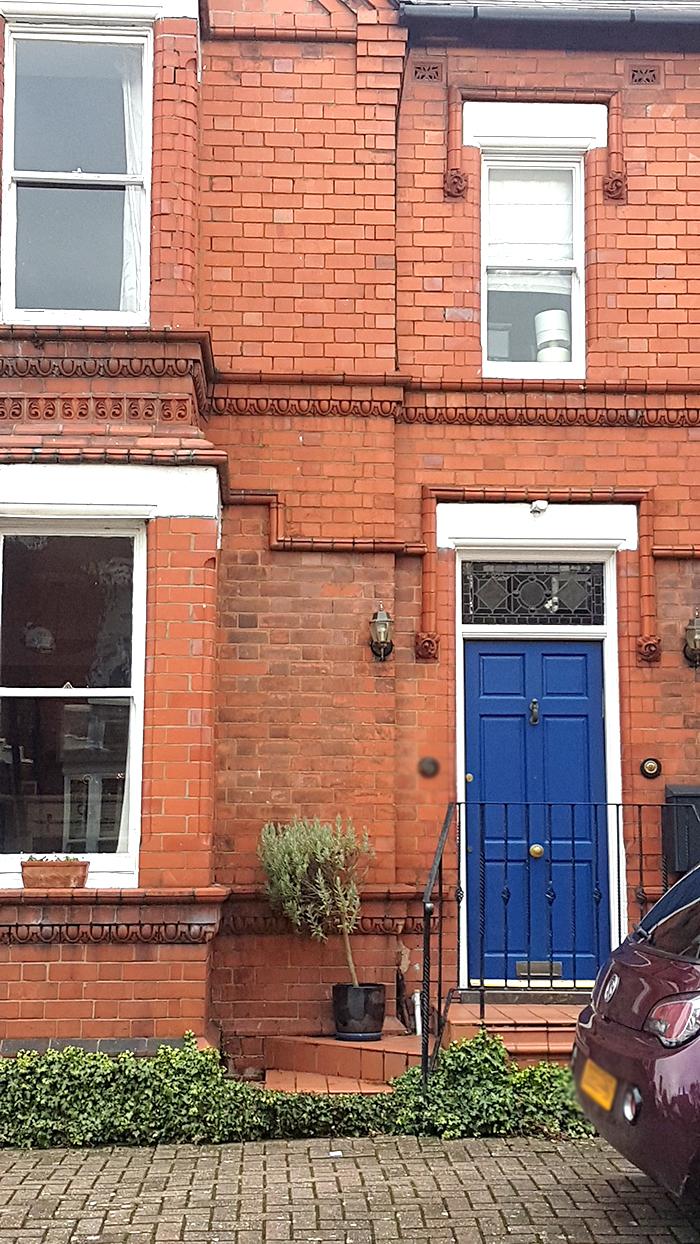 Victorian House door