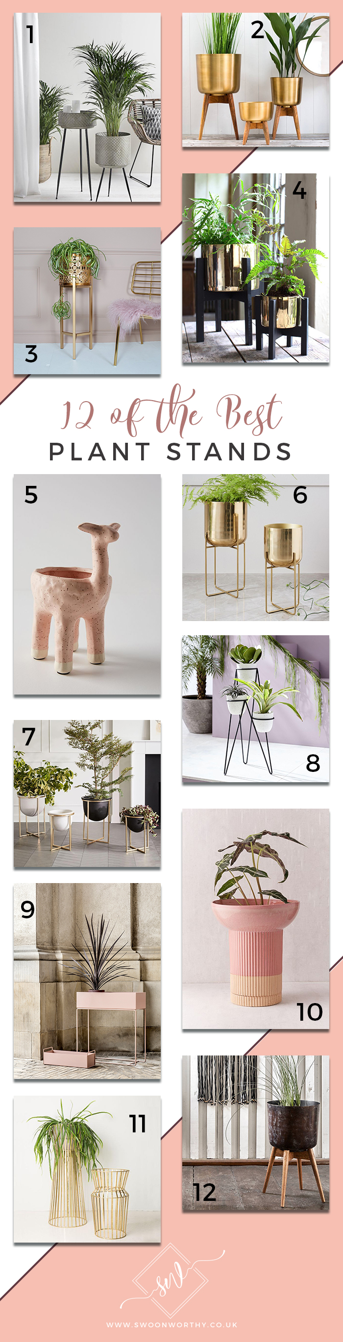 12 of the Best Plant Stands UK