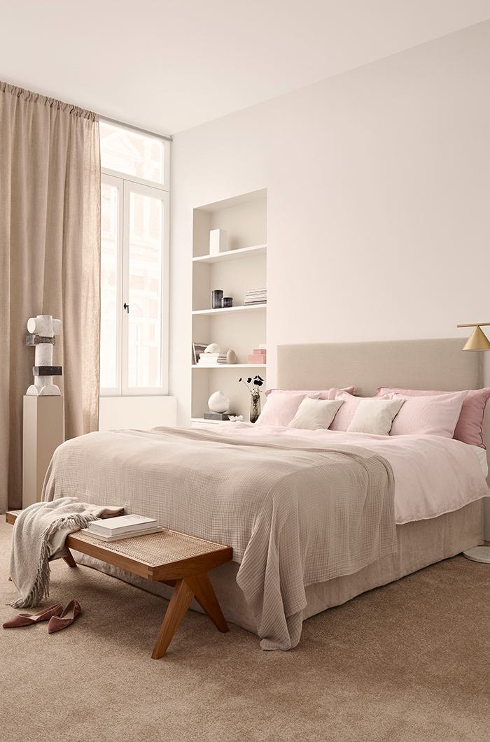 H&M Home Spring 2018 with gorgeous blush pink bedding