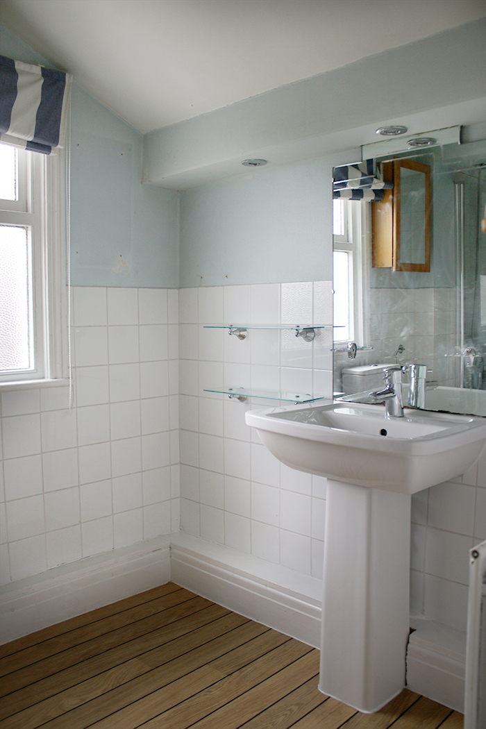 Fancy taking a look around our new project? Check out the bathroom in our empty room tour.