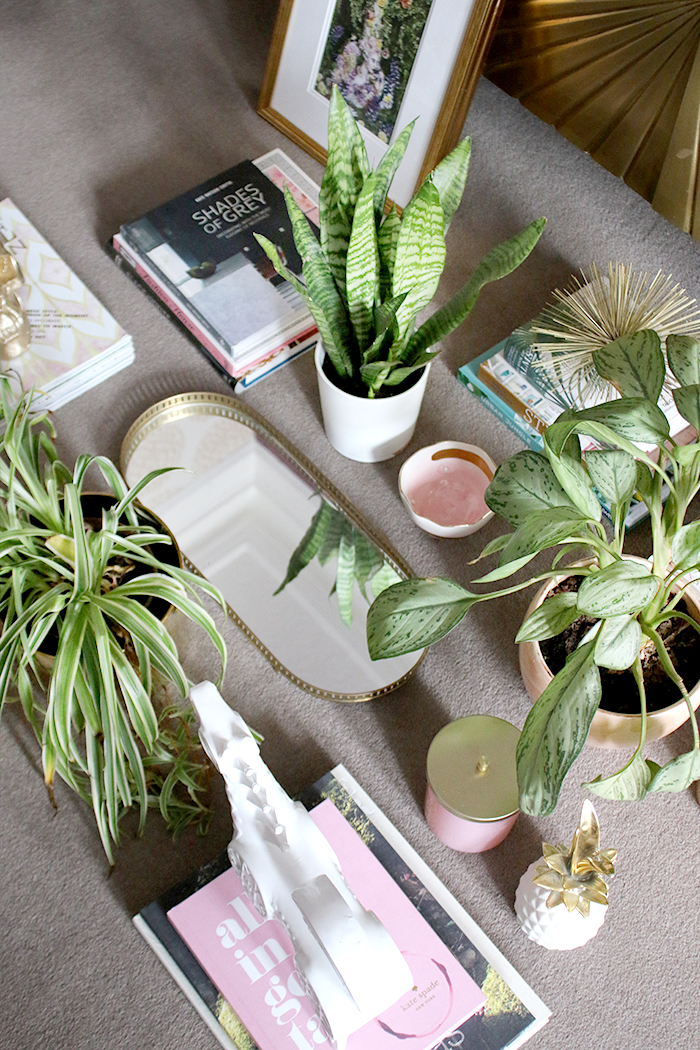 How to Style a Shelf - Gathering Supplies