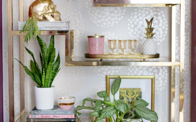 Shelf Styling: How to Style a Shelving Unit