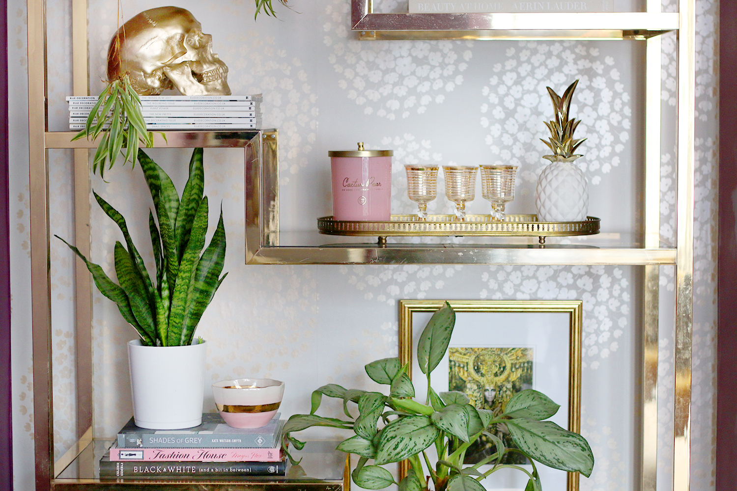 Shelf Styling How To Style A Shelving Unit Swoon Worthy