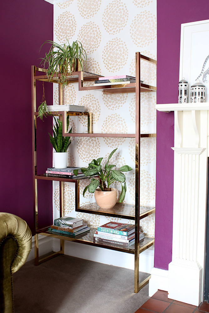 Shelf Styling Tips - Add Your Plants