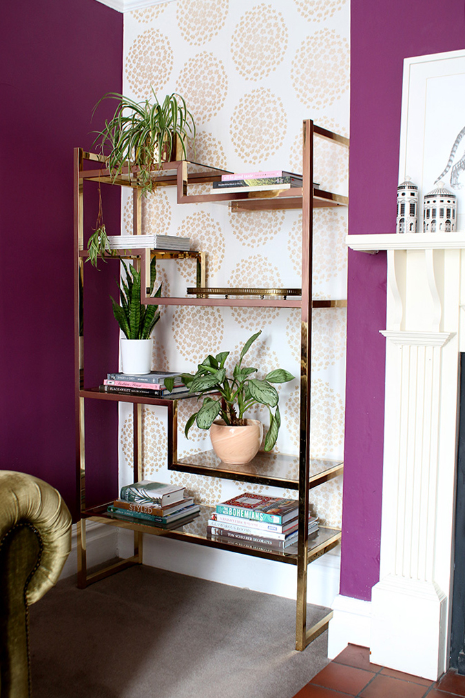 Shelf Styling Tips - Add a Tray