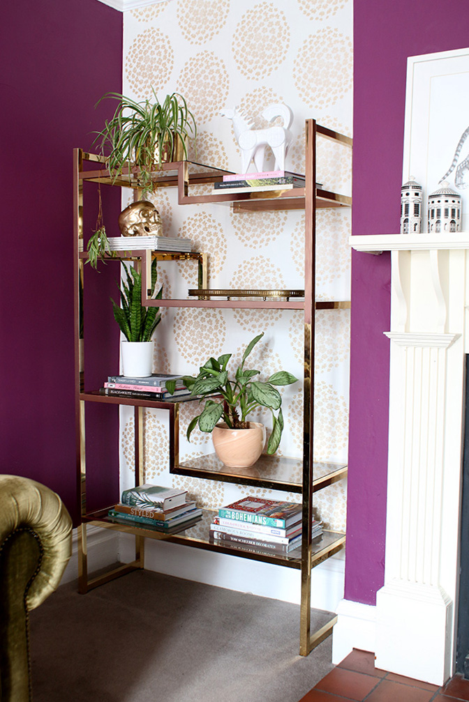 Shelf Styling Tips - Add Your Larger Objects