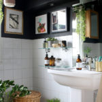 My Boho Glam Black Bathroom Budget Refresh