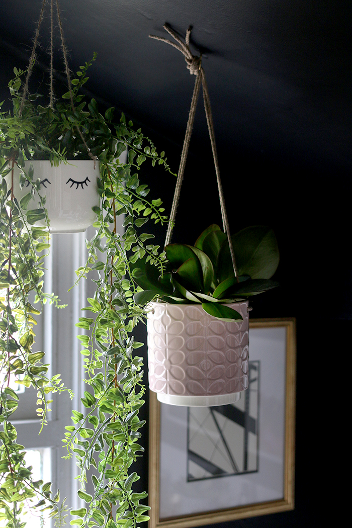 Hanging planters from the new ASOS homeware collection.