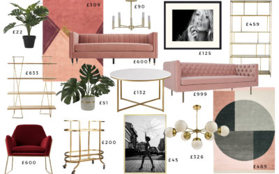 1 Glam Living Room – 3 Different Budgets