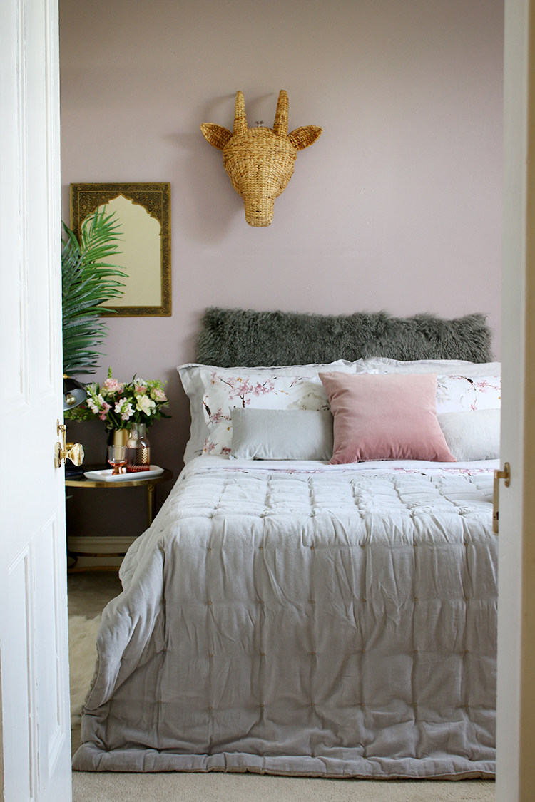 Create the perfect guest bedroom by providing your guests with a comfy bed