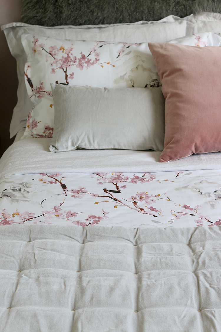 Create the perfect guest bedroom with luxury bedding from Christy