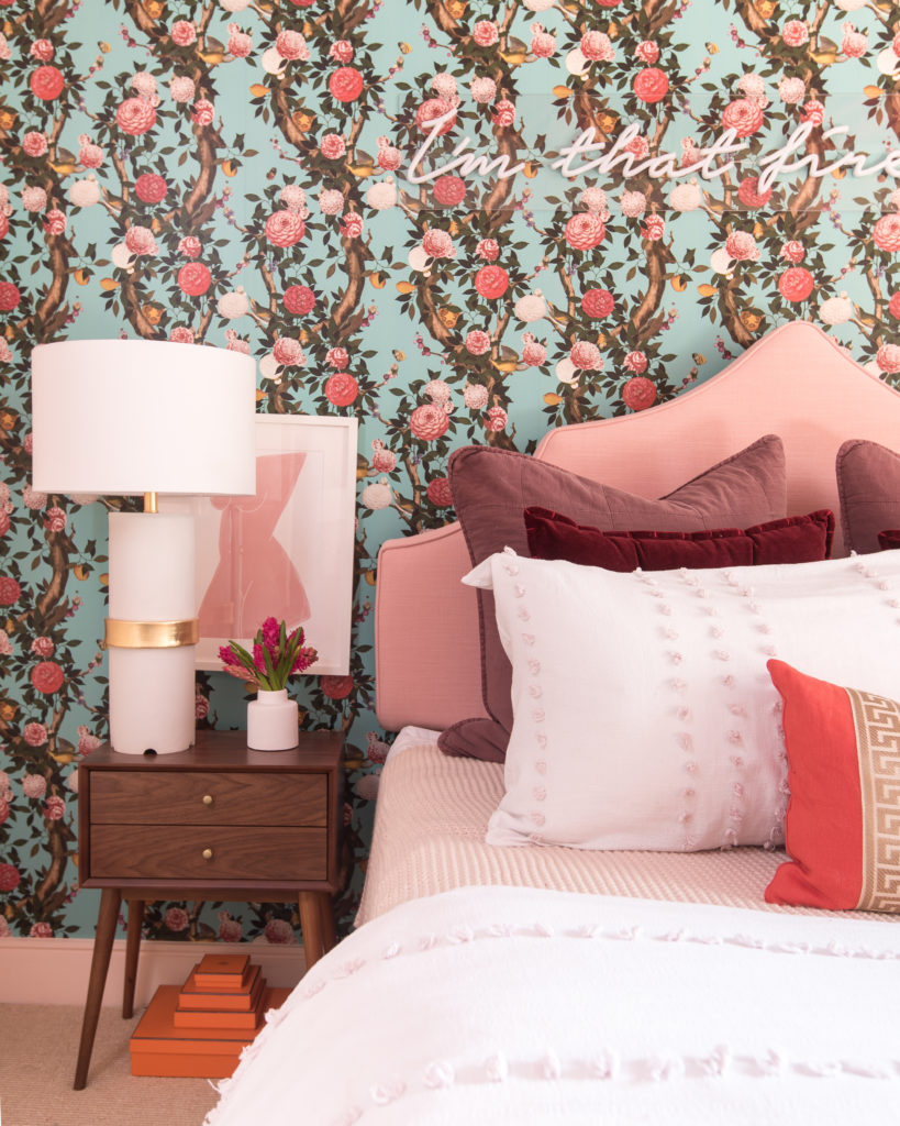 Shannon Claire ORC floral wallpaper