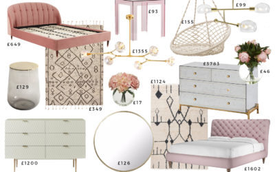 1 Glam Bedroom – 3 Different Budgets