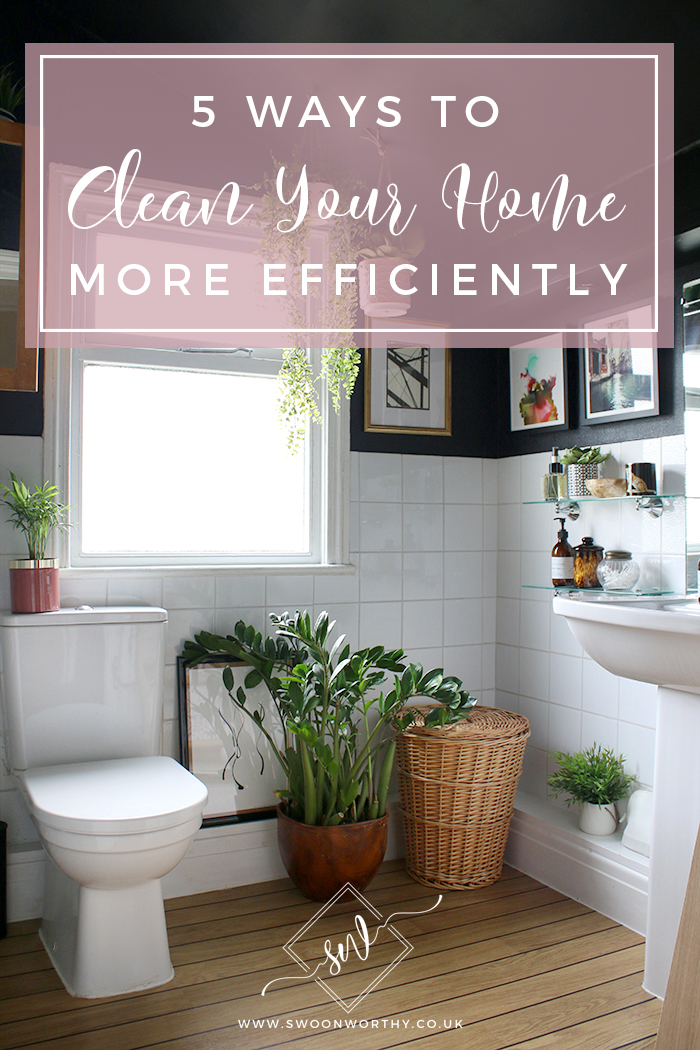 Dread the weekly house clean? Check out my tips on how to make cleaning quicker so you can spend more time on the important things in life!