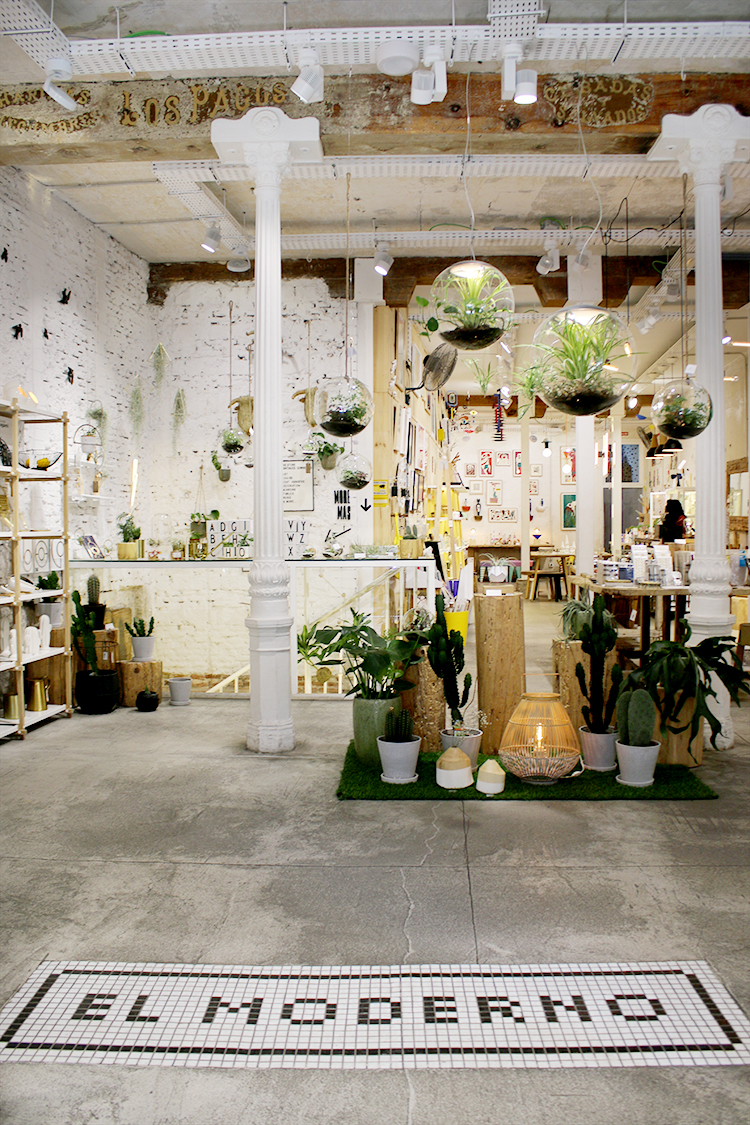 El Moderno is the perfect stop for some home interiors shopping in Madrid.