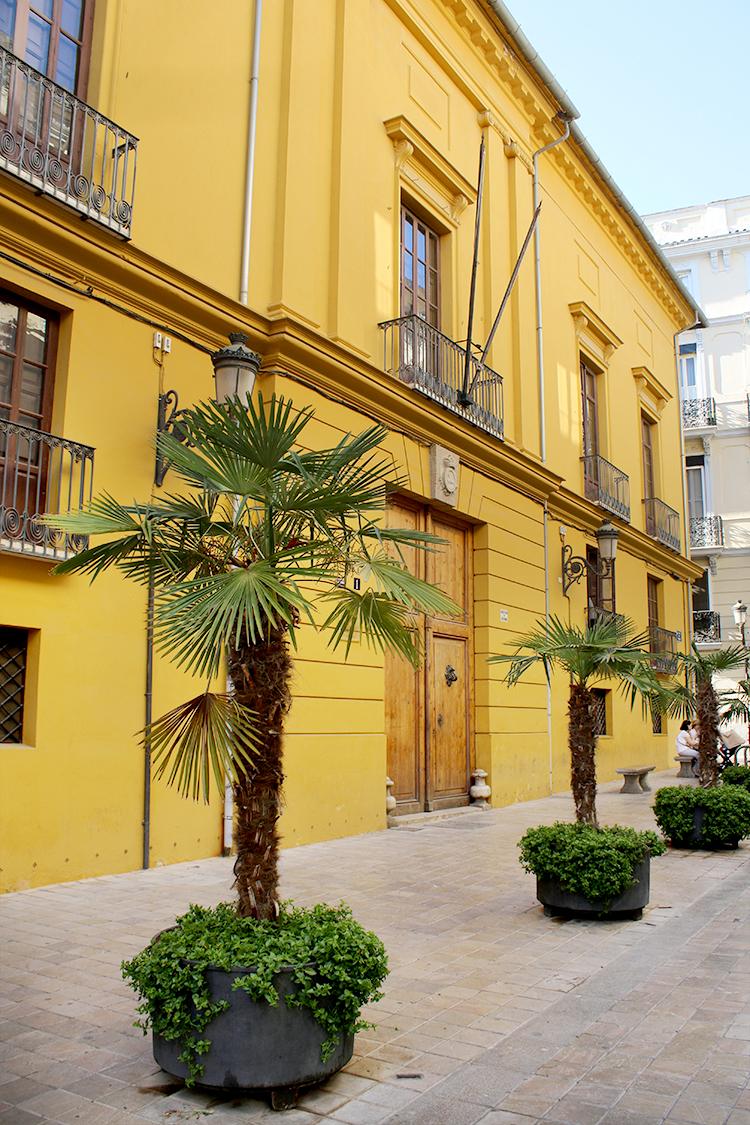 street in valencia spain