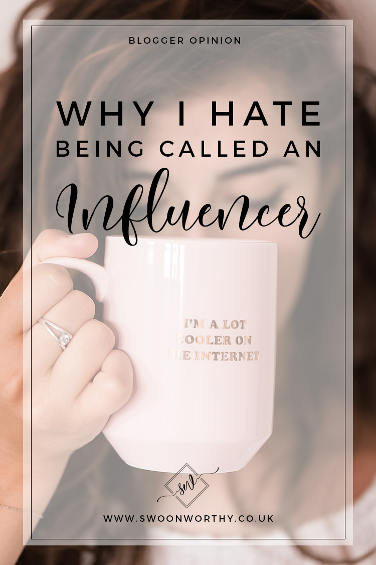 Why I Hate Being Called an Influencer