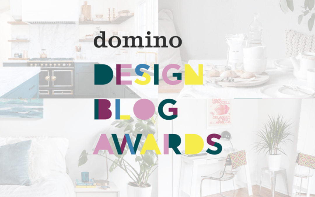 I'm a finalist in the Domino Design Blog Awards! OMG.
