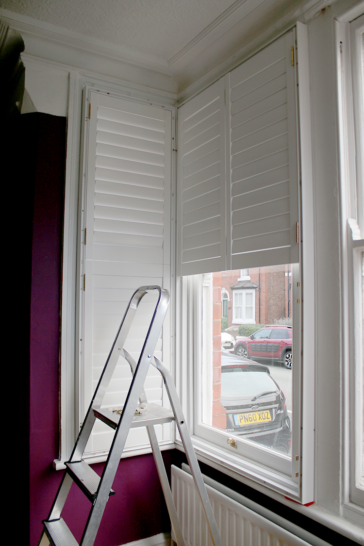 DIY Shutter installation
