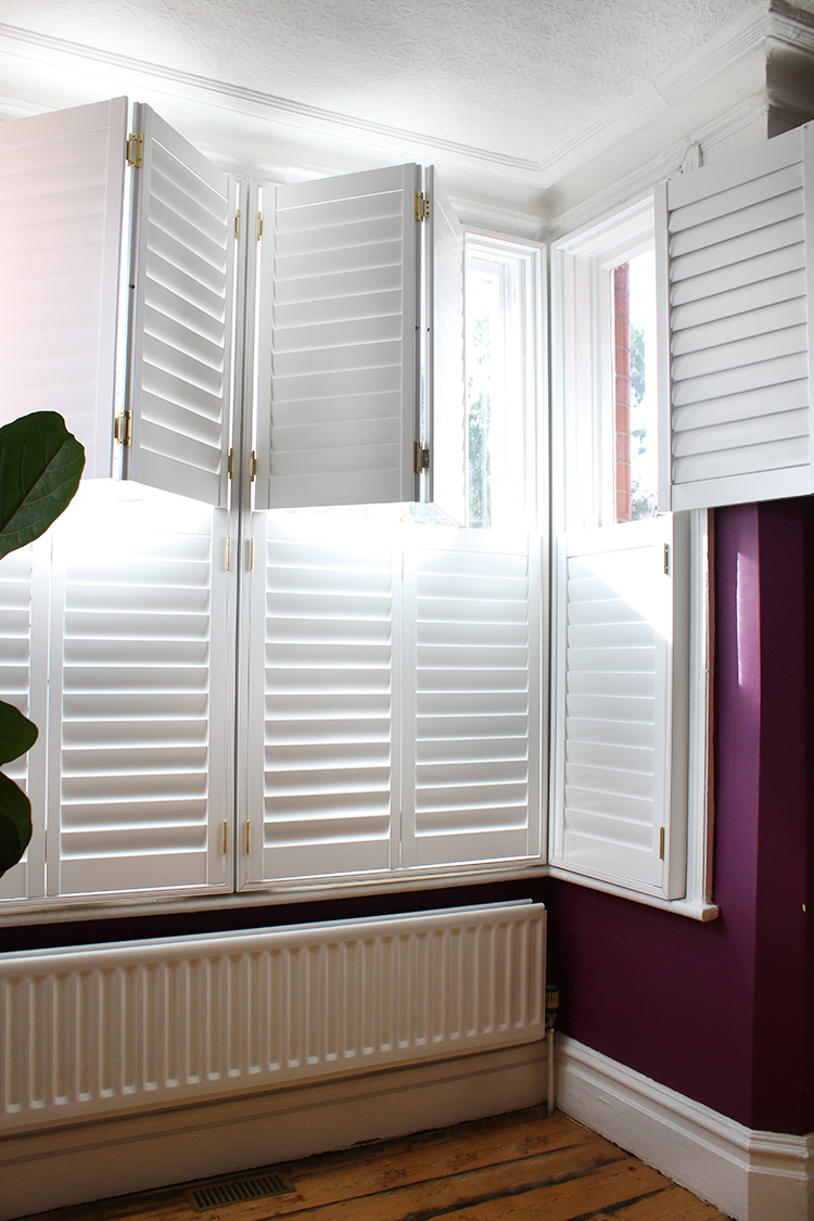 DIY Shutters tier-on-tier