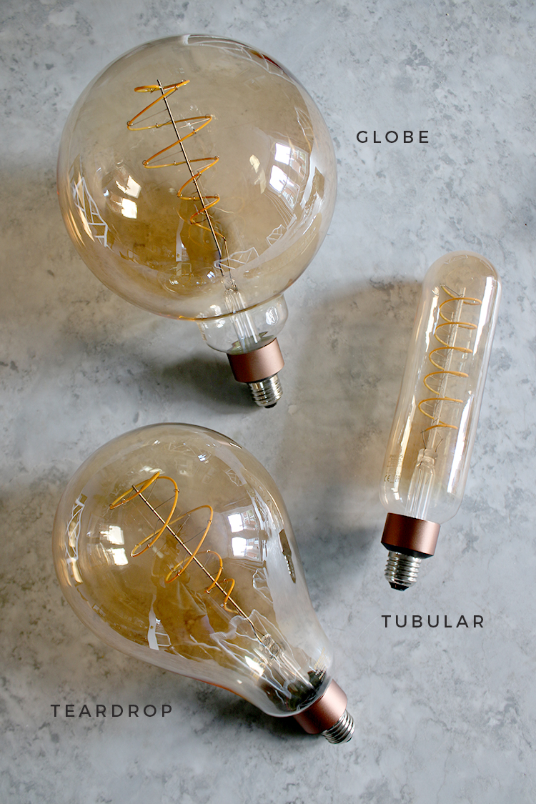 Phillips LED Deco range of supersized LED Filament bulbs