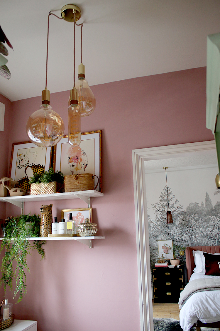 Supersize LED filament bulbs from Phillips Lighting with brass fixtures