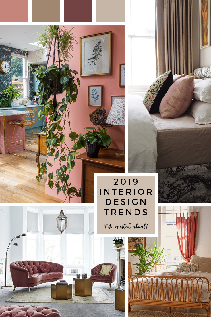 Home Design Ideas For 2019: 2019 Interior Design Trends I'm Really Excited About