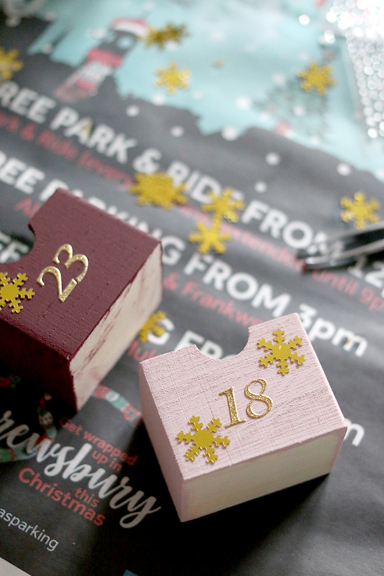 DIY Advent Calendar Step 5