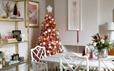 My Christmas Dining Room (and a Pink Christmas Tree!)