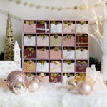 Glam Pink & Gold Reusable DIY Advent Calendar
