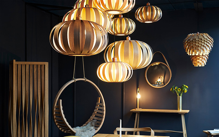Tom Raffield Lighting and Furniture