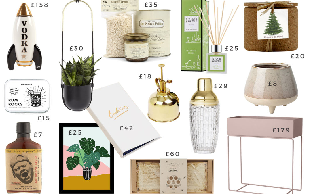 Christmas Gift Guides: The Mixologist, The Plant Whisperer, The Foodie