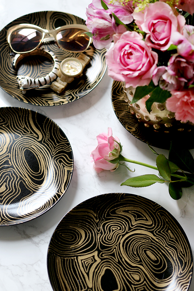 Jonathan-Adler-Knockoff-DIY-Malachite-Coasters-1