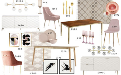 1 Glam Dining Room 3 Different Budgets