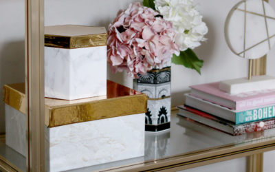 DIY Display Storage Upcycled from Gift Boxes