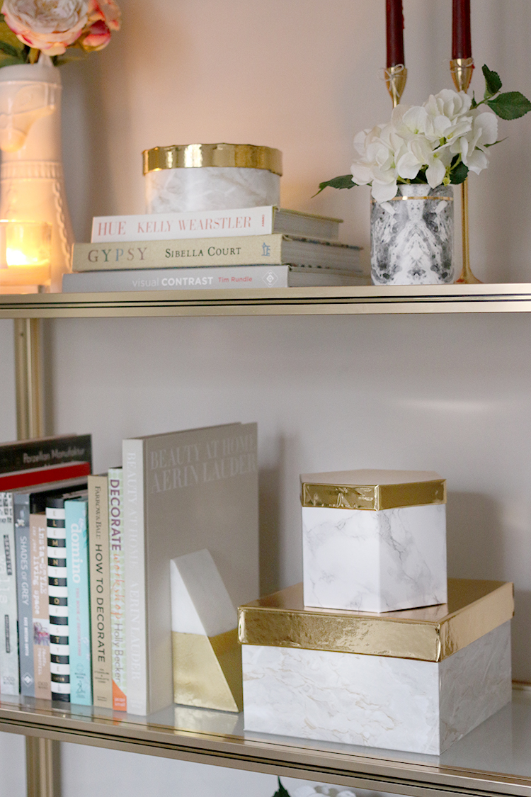 DIY Upcycled Gift Boxes to Display Storage