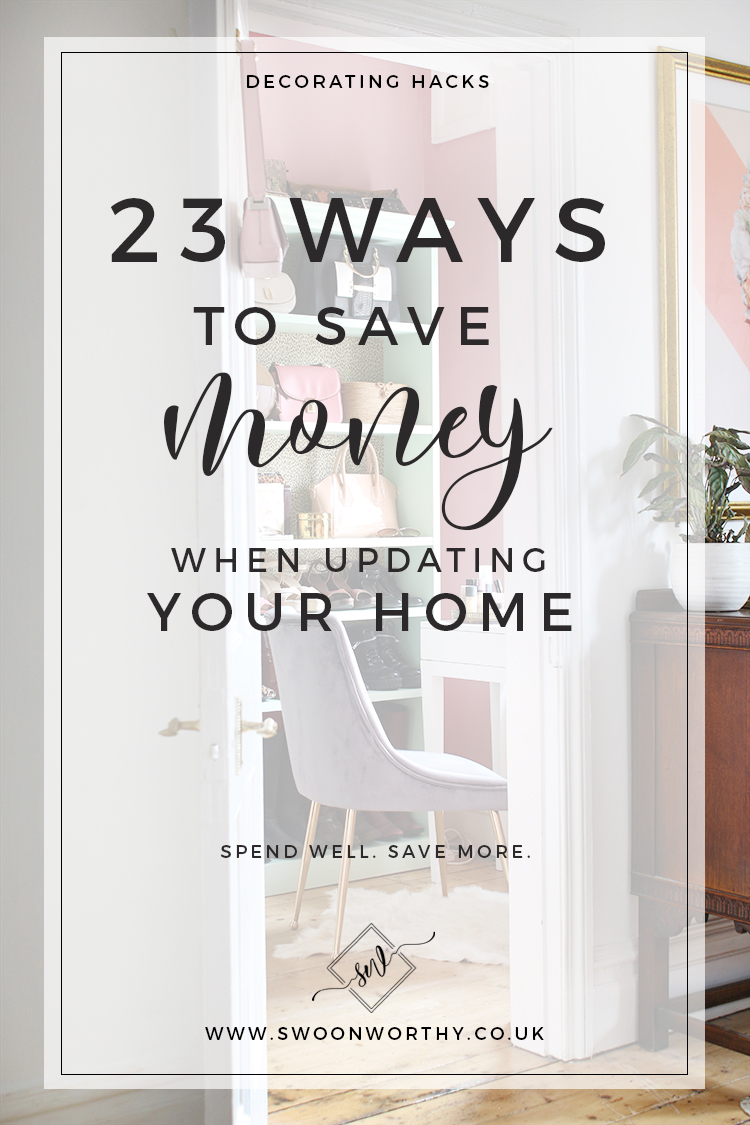 23 Ways to Save Money When Updating Your Home