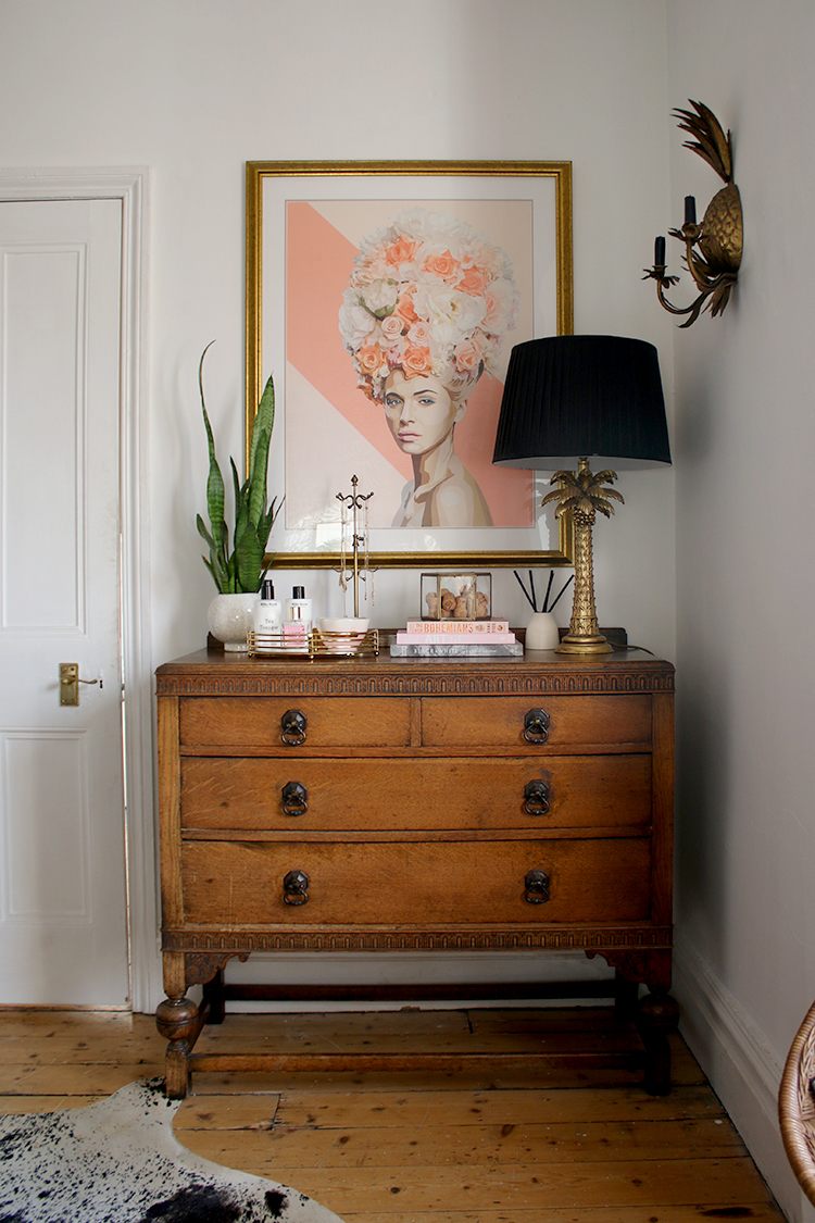 How to Style Your Bedroom Chest of Drawers