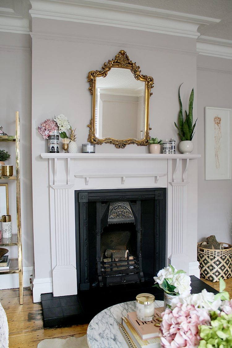How to update and restore an old Victorian fireplace