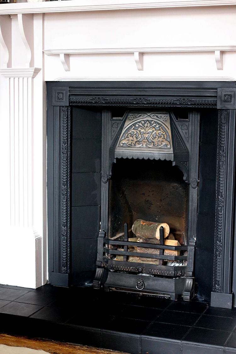 Updating and restoring a Victorian fireplace