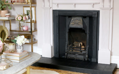 How To Easily Update and Refresh An Old Victorian Fireplace on a Budget