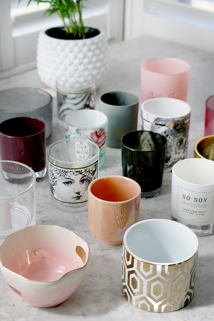 10 Clever Ways To Upcycle Your Empty Candle Jars Containers Swoon Worthy