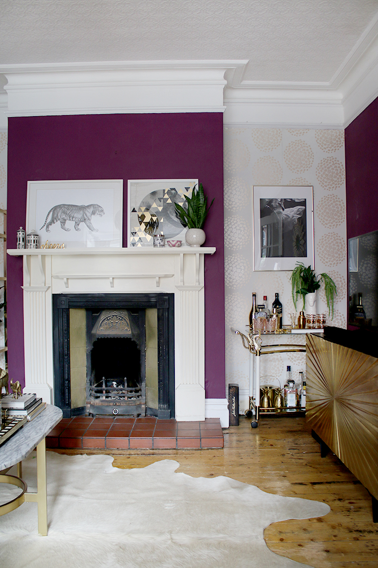 Victorian Fireplace Before
