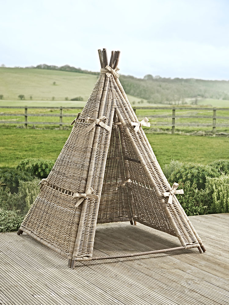 Rattan Teepee from Cox & Cox