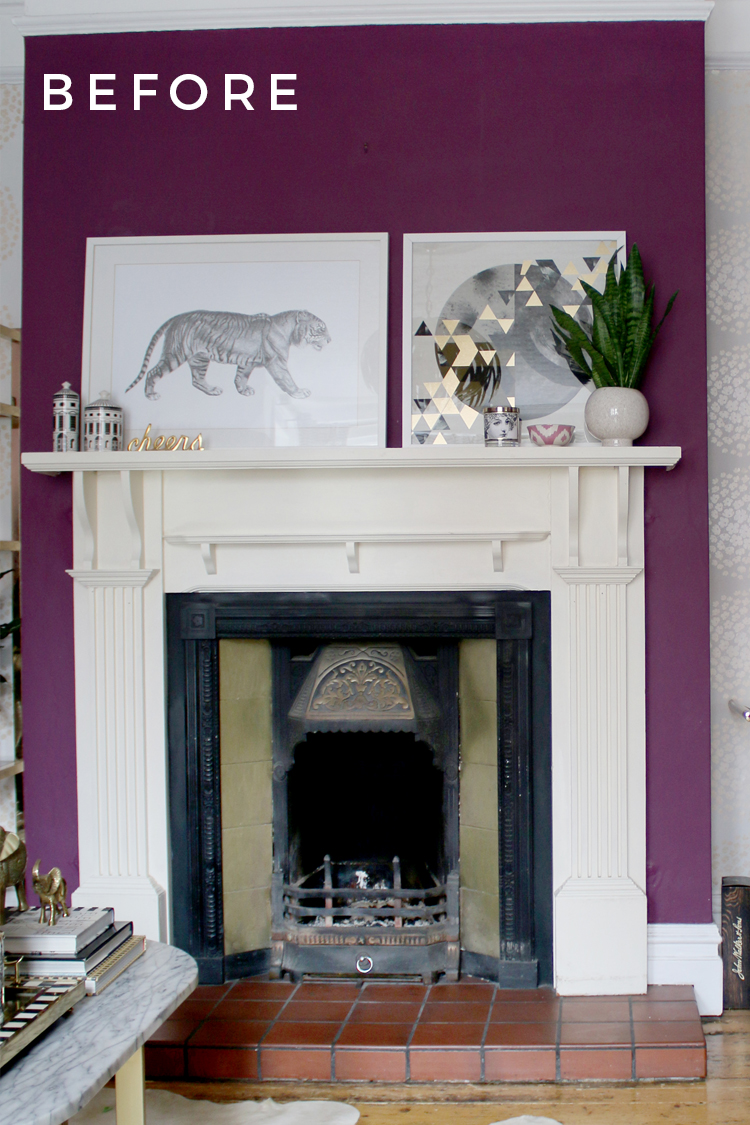 How To Easily Update And Refresh An Old Victorian Fireplace On A