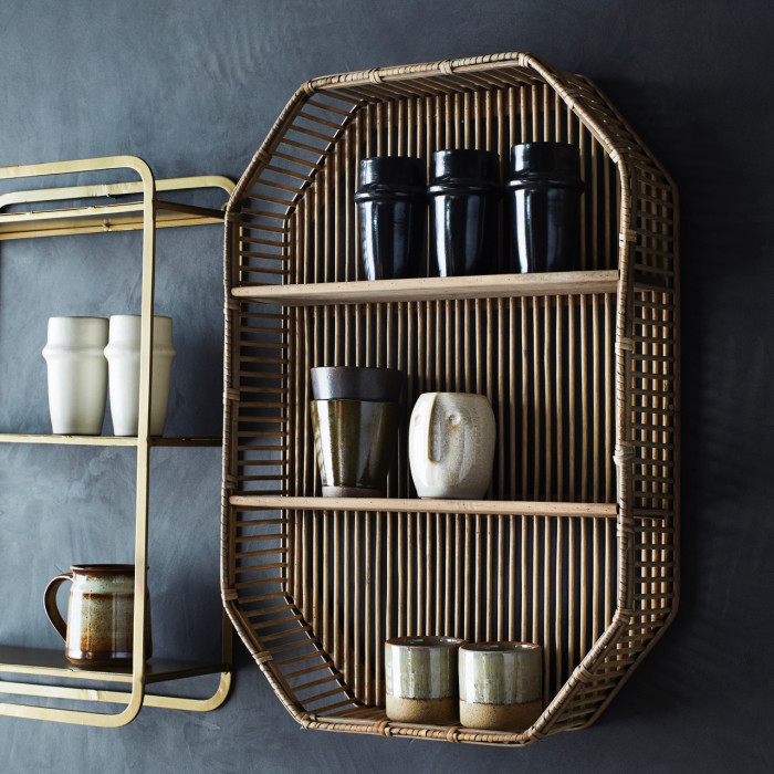 Bamboo Shelving Unit