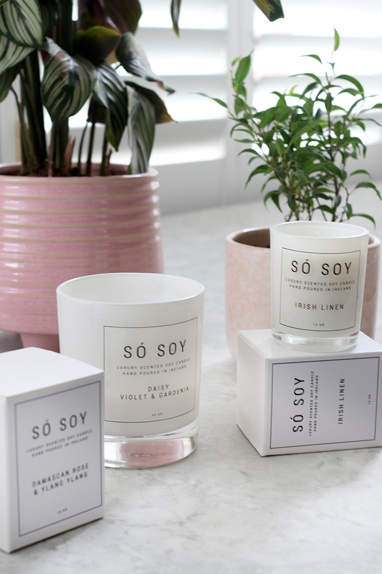 Spring candles from So Ireland
