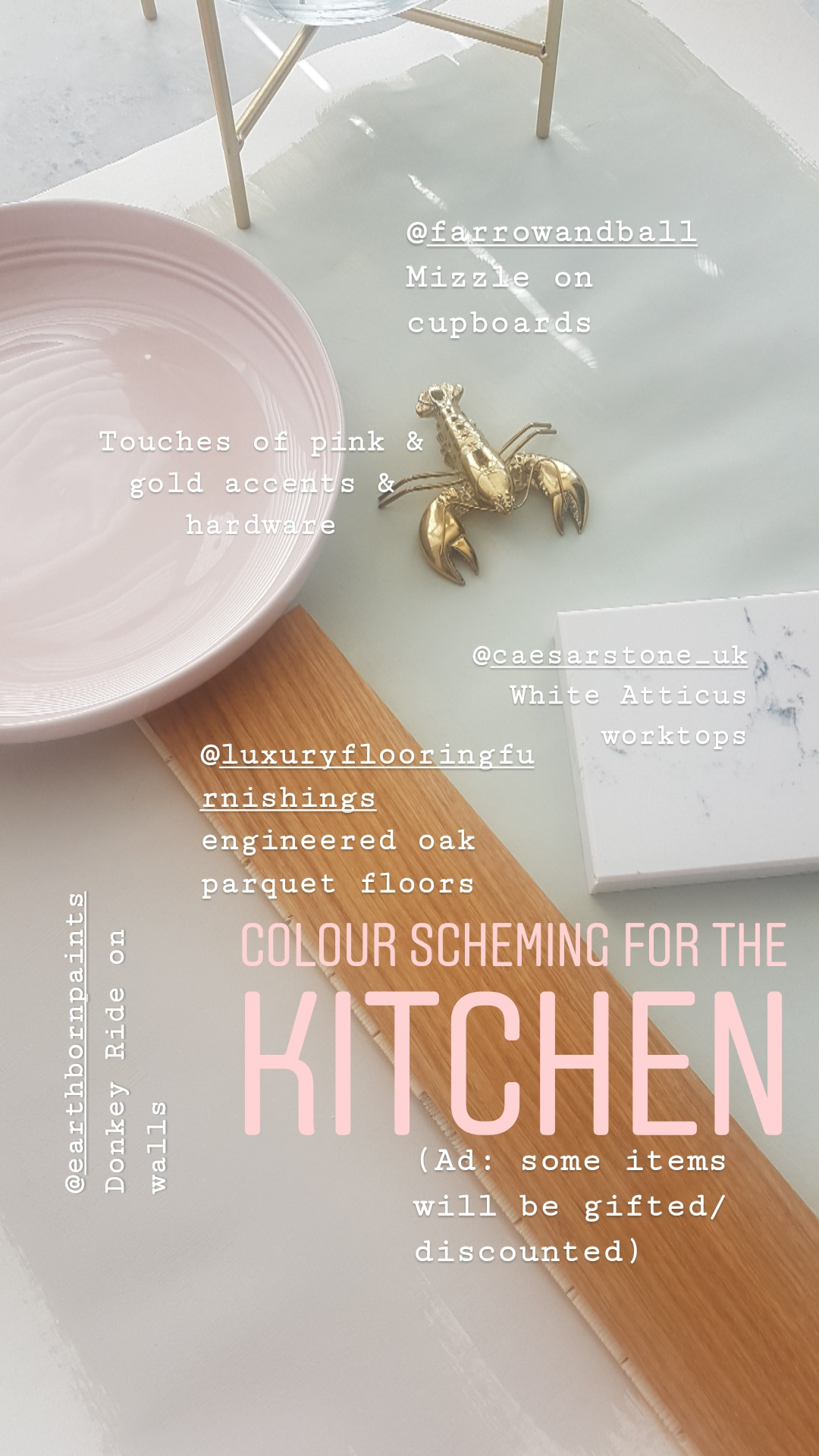 kitchen colour planning