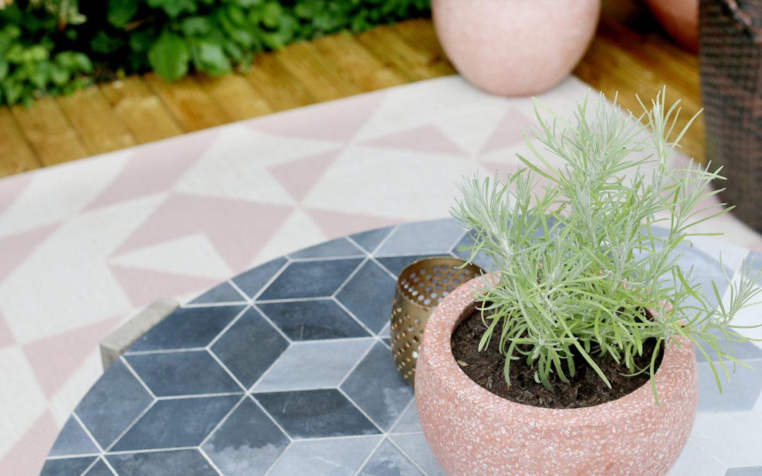 Garden Planning & Mood Board in Peachy Pinks