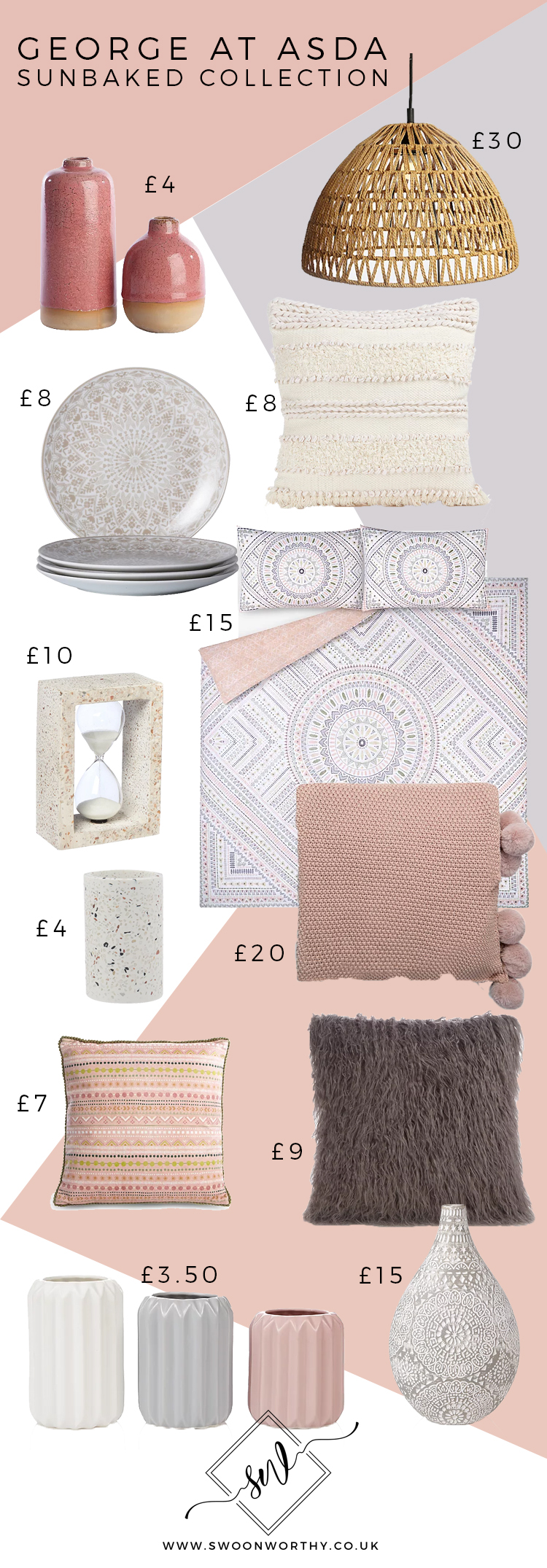 George at Asda Sunbaked Collection buying guide